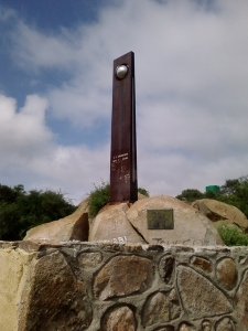 Tropic of Capricorn marker, north of Polokwane, Limpopo.