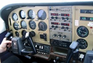 Cessna flight instruments.