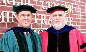 Me & Advisor/Friend, William H. Brackney